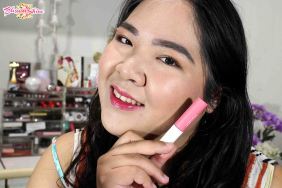 Full Lips - Wardah Cheek And Liptint Shade 03 - Pink On Point