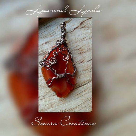 Check out this item in my Etsy shop https://www.etsy.com/listing/253183686/gorgeous-wrapped-red-brown-and-orange