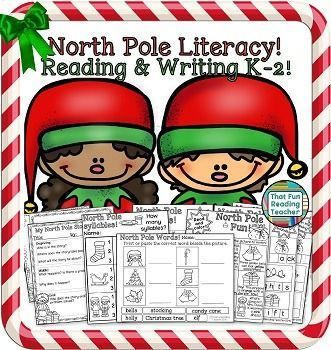 Fun #ChristmasReading and #ChristmasWriting Activities! #EarlyLiteracy K-2 $