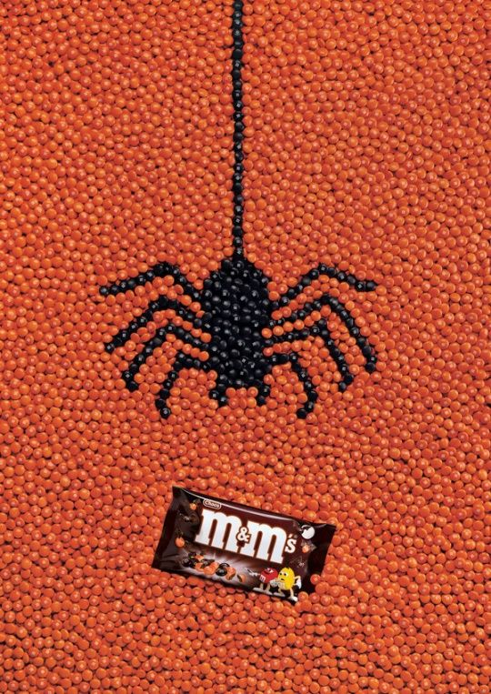 M's Halloween Ads by Jacques Pense