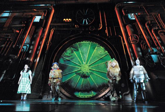 wizard of oz year 2011 designer rob jones venue the