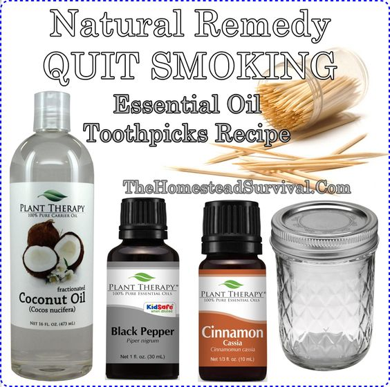 This step by step tutorial of how to make a natural remedy quit smoking essential oil toothpicks recipe will frugally give you that extra support to help s