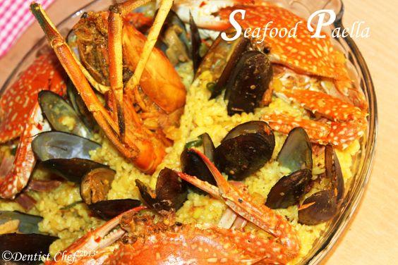 seafood recipes   paell seafood saffron recipe how make paella valencia seafood recipes