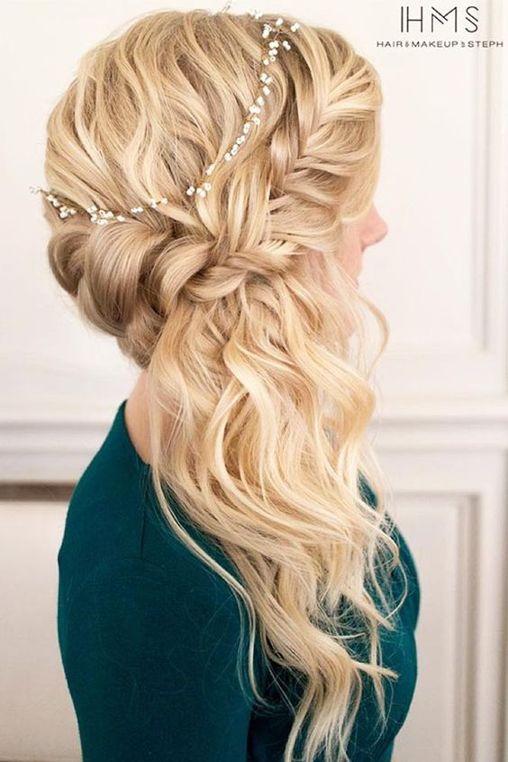 Christmas Party Braid Hairstyles ★ See more: http://glaminati.com/christmas-party-braid-hairstyles/: