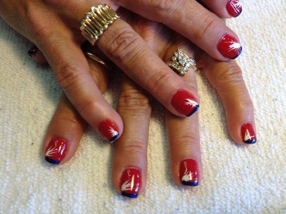 Pretty Best Navy Nail Polish Small Toe Nails Art Regular Nail Art Glitter Chanel Elixir Nail Polish Youthful Guys Nail Polish BrightAirbrush Nail Polish Patriotic Nail Art By Amber McGinnis At Salon Serenity In Grain ..