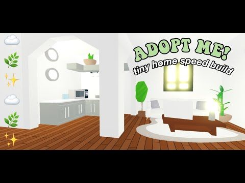 Adopt Me Aesthetic Tiny Home Speed Build Youtube In 2020 Sims House Design Cute Room Ideas My Home Design
