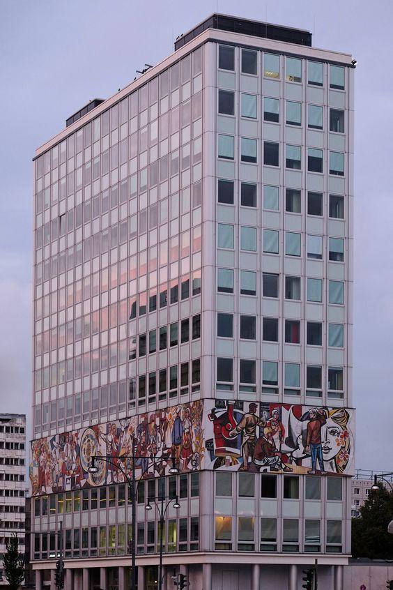 "scavengedluxury: "" Haus des Lehrers. Berlin, August 2015. """