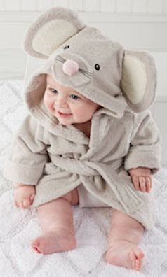Cutest mouse towel robe