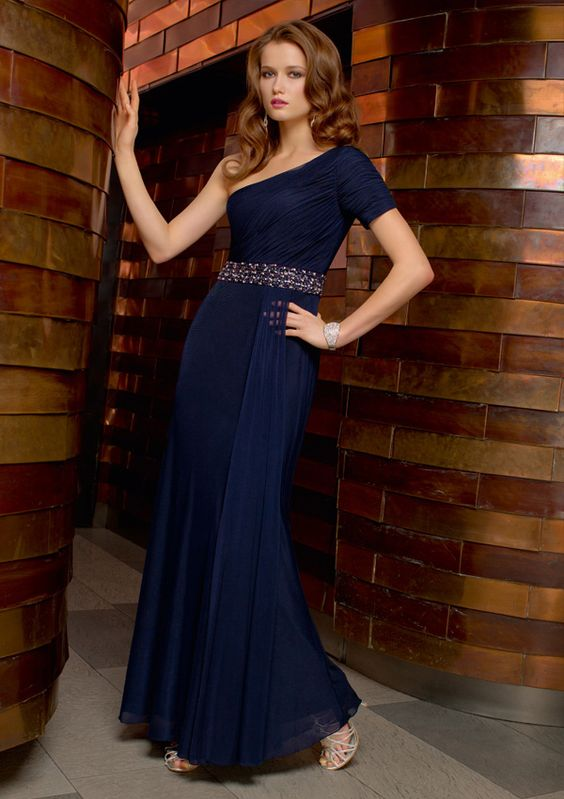 MOB strapless Chiffon Dress-WMOB0005, $167.95
