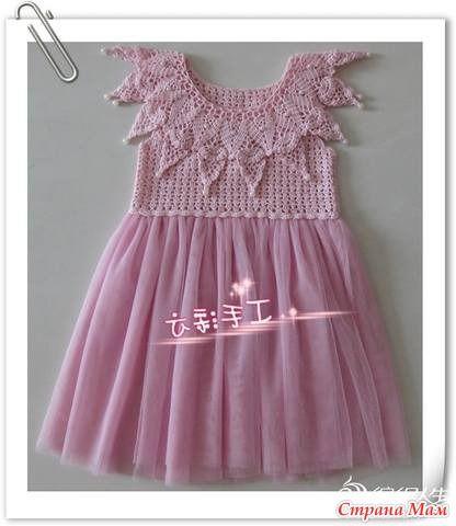 Красота для девочек - Вязание для детей - Страна Мам: