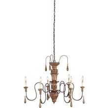 Currey and Company 9334 Mansion Chandelier