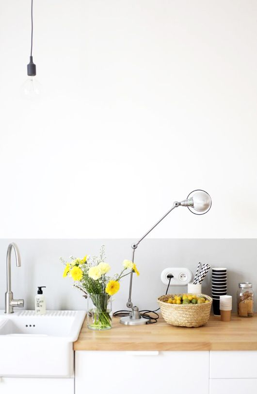 gray-paint-kitchen Painting idea for guest bathroom