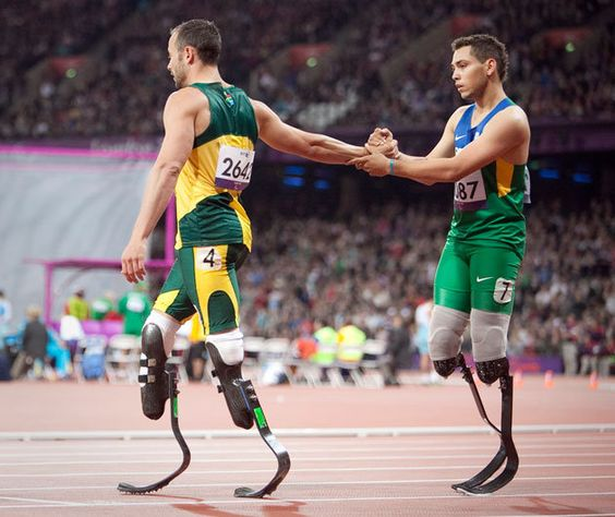 Shock: Oscar Pistorius loses 200m Paralympic race, alleges winner had unfair advantage #Paralymics