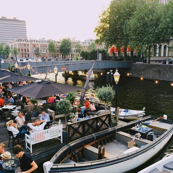 To Try @ a sunny day: Amstelhaven, Mauritskade 1, Amsterdam centrum