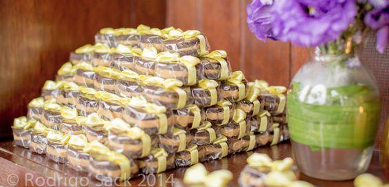Bem casado de brownie caseme | Foto: Rodrigo Sack