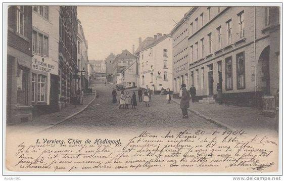 17965g THIER de HODIMONT - Verviers - 1904