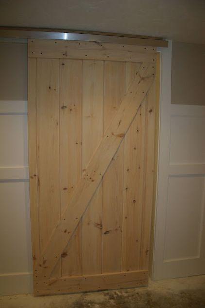 Homemade Barndoor For Bunkhouse Good Ideas 1 Use Closet