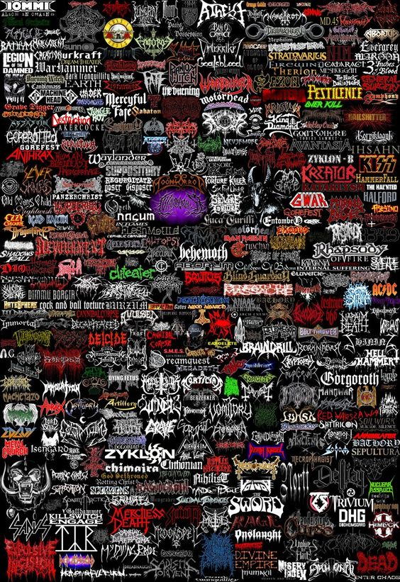 hardcore bands collage images - photo #32