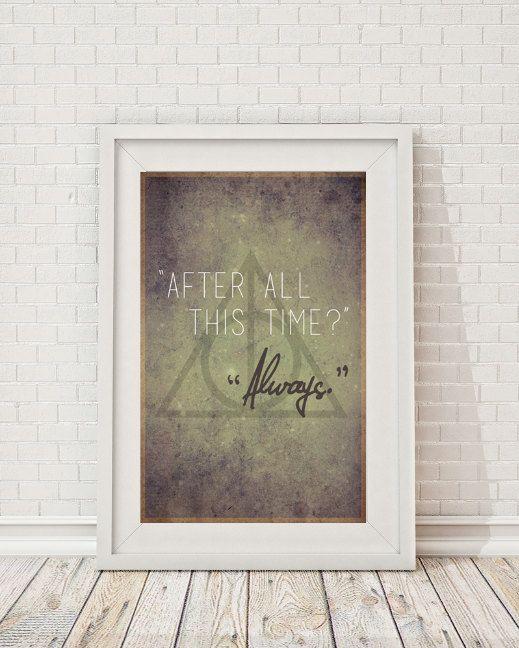 Harry Potter & The Deathly Hallows zu zitieren  von LeafHouseStudio