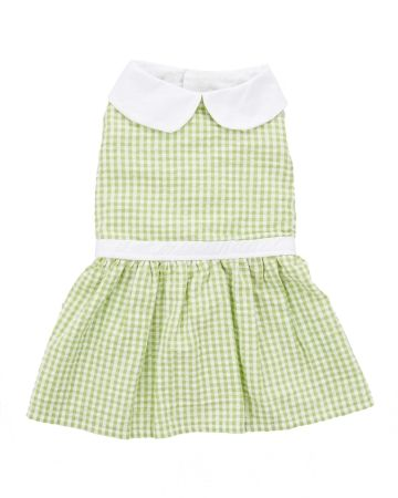 Gingham Dog Dress, Main View