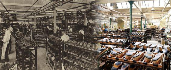фабрика Loake