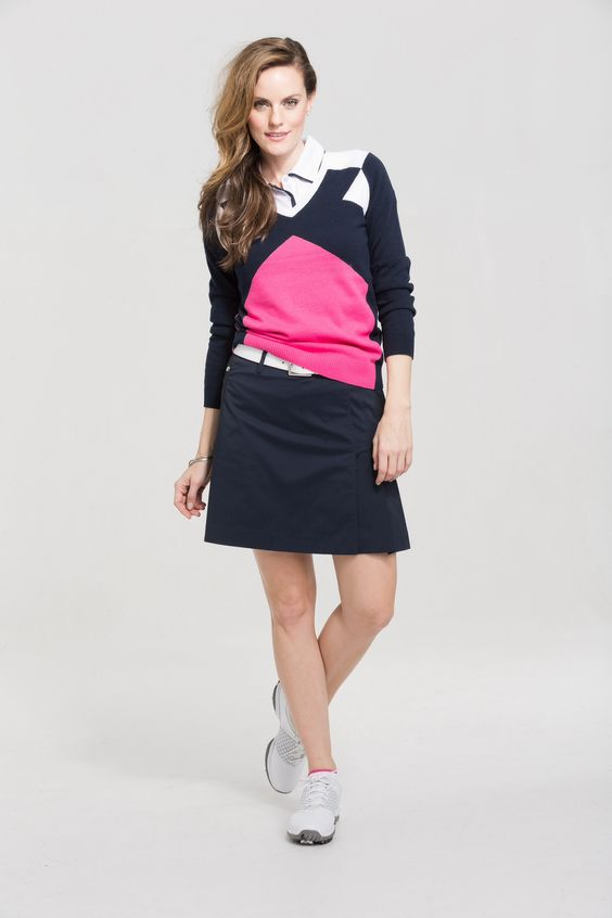Nivo Mix collection of navy, pink & white