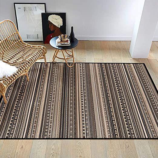 Striped Carpet Living Room Chemical Fiber Carpet Rectangular Handmade Edging Mat 1 65 M Times 2 35 M Striped Carpets Oriental Carpets Carpet