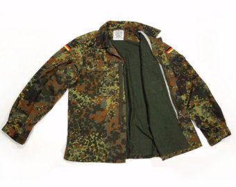 Camo chaqueta Vintage ejército chaqueta por FiregypsyVintage