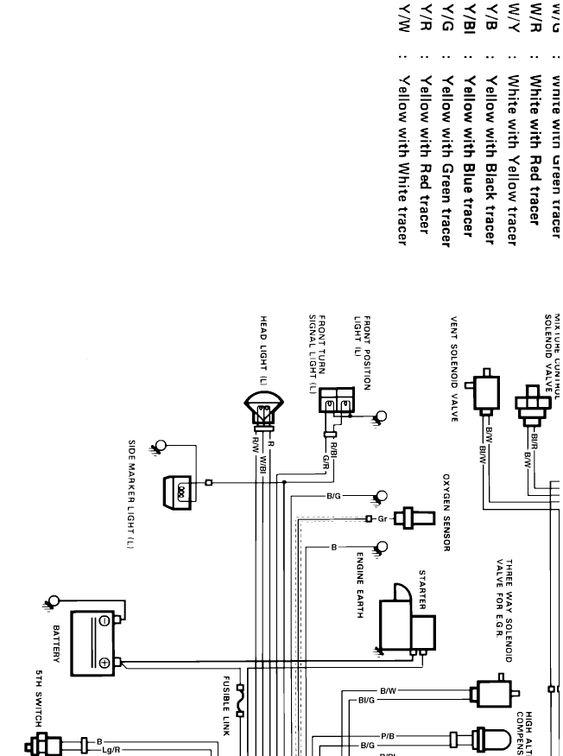 Suzuki Outboard Ignition Switch Wiring Diagram