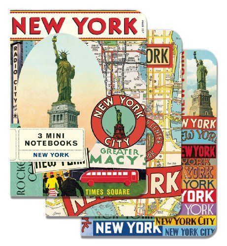 Cavallini Mini Notebooks: New York