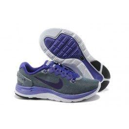 Verkaufen Nike LunarGlide+ 4 Shield Frauen Dunkelgrau Lila Schuhe Online | Beste Nike LunarGlide+ 4 Shield Schuhe Online | Nike Schuhe Online Und Günstige | schuheoutlet.net