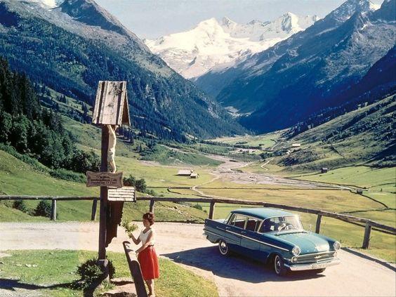 """Bildband """"Vintage Alpen"""": Die Bilder zeigen einen Alpentourismus,"""