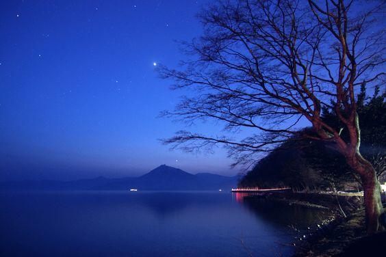 Blue twilight..
