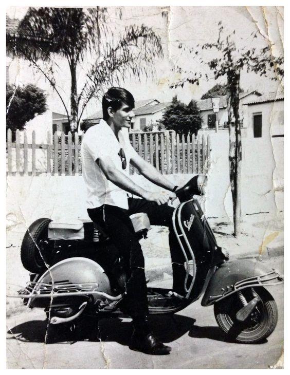 Vespas na Estrada: José Wilson de Souza - Zé Periquito - 1960-Campinas-SP-Av.Francisco de Paula Oliveira Nazareth  com rua Francisco Alves de Almeida