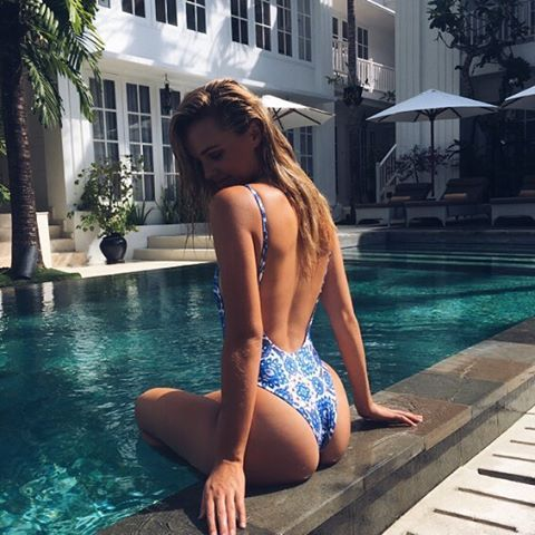brookehogan1 Brooke Hogan Don't want to go home ☀️ @thecolonyhotelbali @theasia.collective #thecolonyhotel #theasiacollective