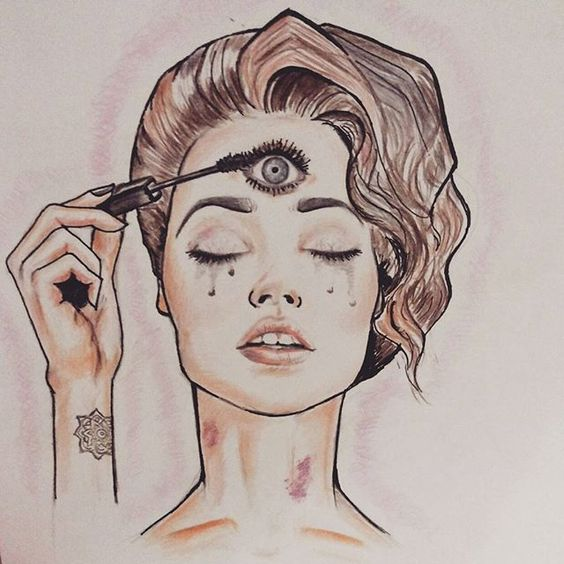 Third Eye Drawings Open Up Your Design Style Pinterest