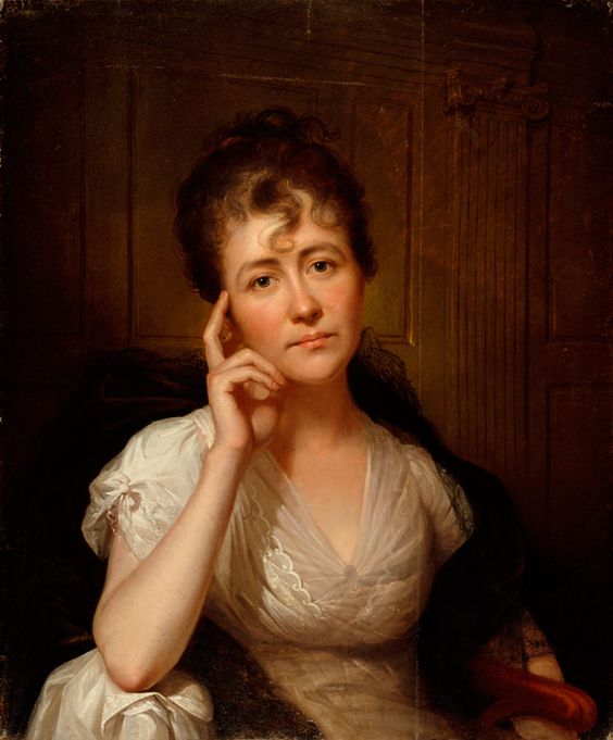 Portrait of Eleanor Mayshort Peale, by Rembrandt Peale, 1805