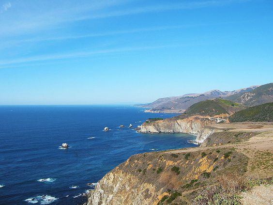 California Coast - along HWY 1