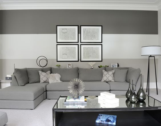 Family Room designed by Enviable Designs