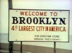 Sign from Welcome Back Kotter Opening