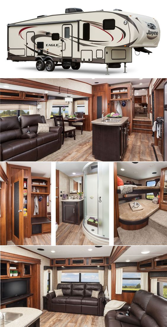 2016 Eagle HT Fifth Wheel.    http://jayco.com/products/fifth-wheels/2016-eagle-ht/