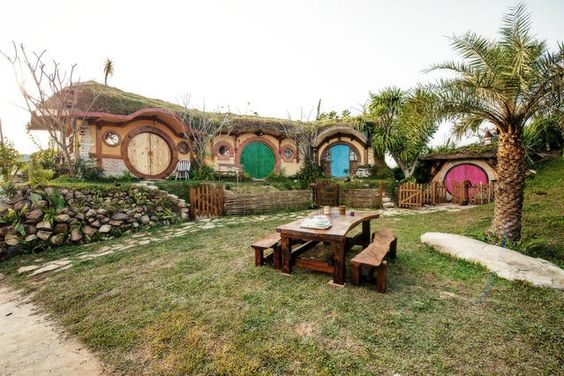 Hobbit House Thailand | Airbnb Mobile | I Want To Go To There! | Pinterest  | Mobiles, Hobbit And House
