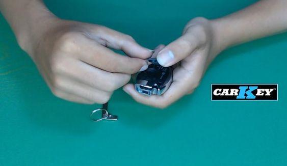 cách thay chìa khóa xe mer