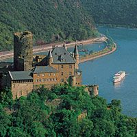 Europe River Cruise - Katz Castle on the Rhine River