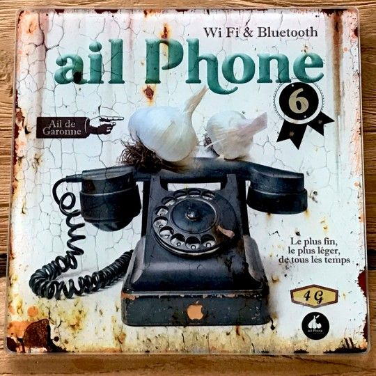 Cadeau Cuisine Geekdessous De Plat Ail Phone A 7 50 Cadeaux