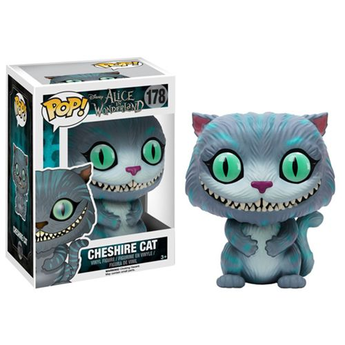 want want want!! Chesire Cat Pop Vinyl Figure, this is the movie version from the Alice In Wonderland live action movie from Tim Burton Brought to you by Pop In A Box, the site Funko Pop! Vinyl shop