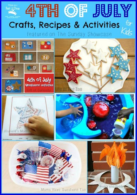 july 4th crafts sunday school