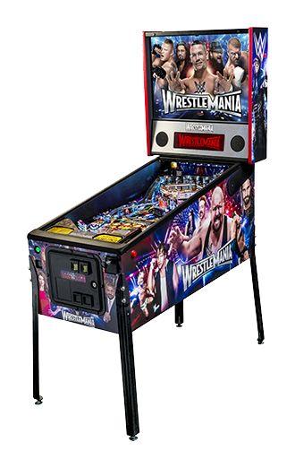 WWE Wrestlemania Pro   Stern Pinball