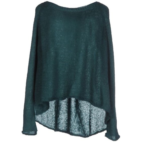 Pinko Jumper ($180) ❤ liked on Polyvore featuring tops, sweaters, deep jade, long sleeve sweaters, blue long sleeve top, long sleeve tops, pinko tops and blue top