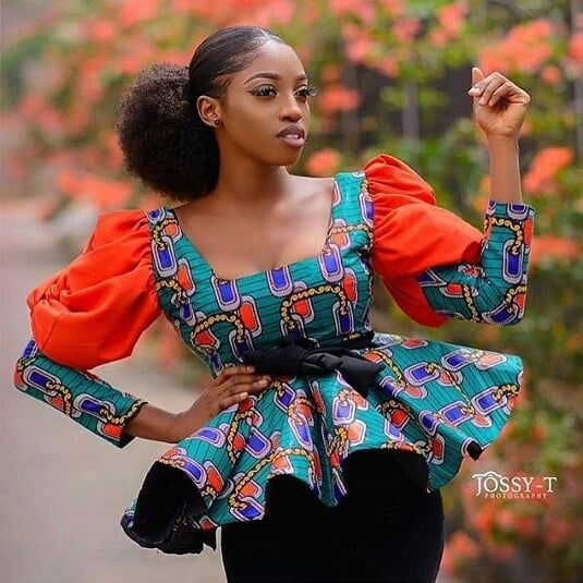 Image May Contain 1 Person African Clothing Styles Nigerian Fashion Ankara Latest African Fashion Dresses